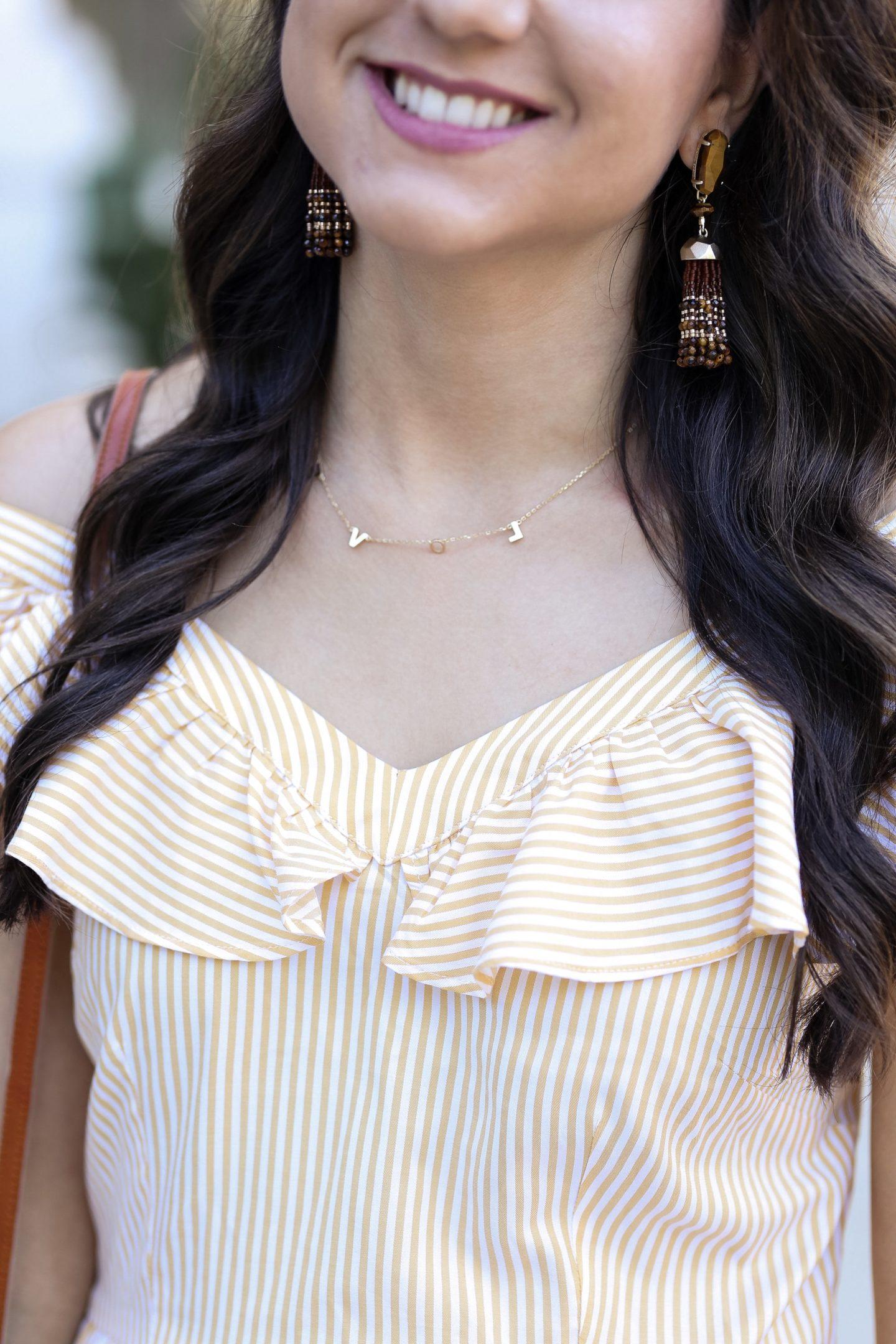 Fifteen Minutes to Flawless Kendra Scott Tassel Earrings