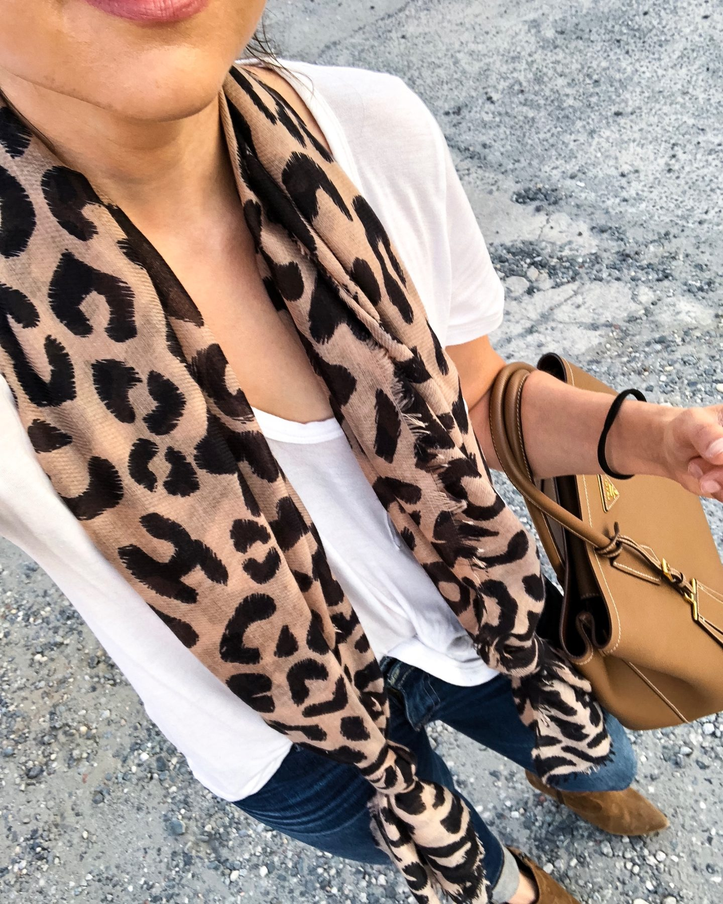 Fifteen Minutes to Flawless Leopard Print Scarf