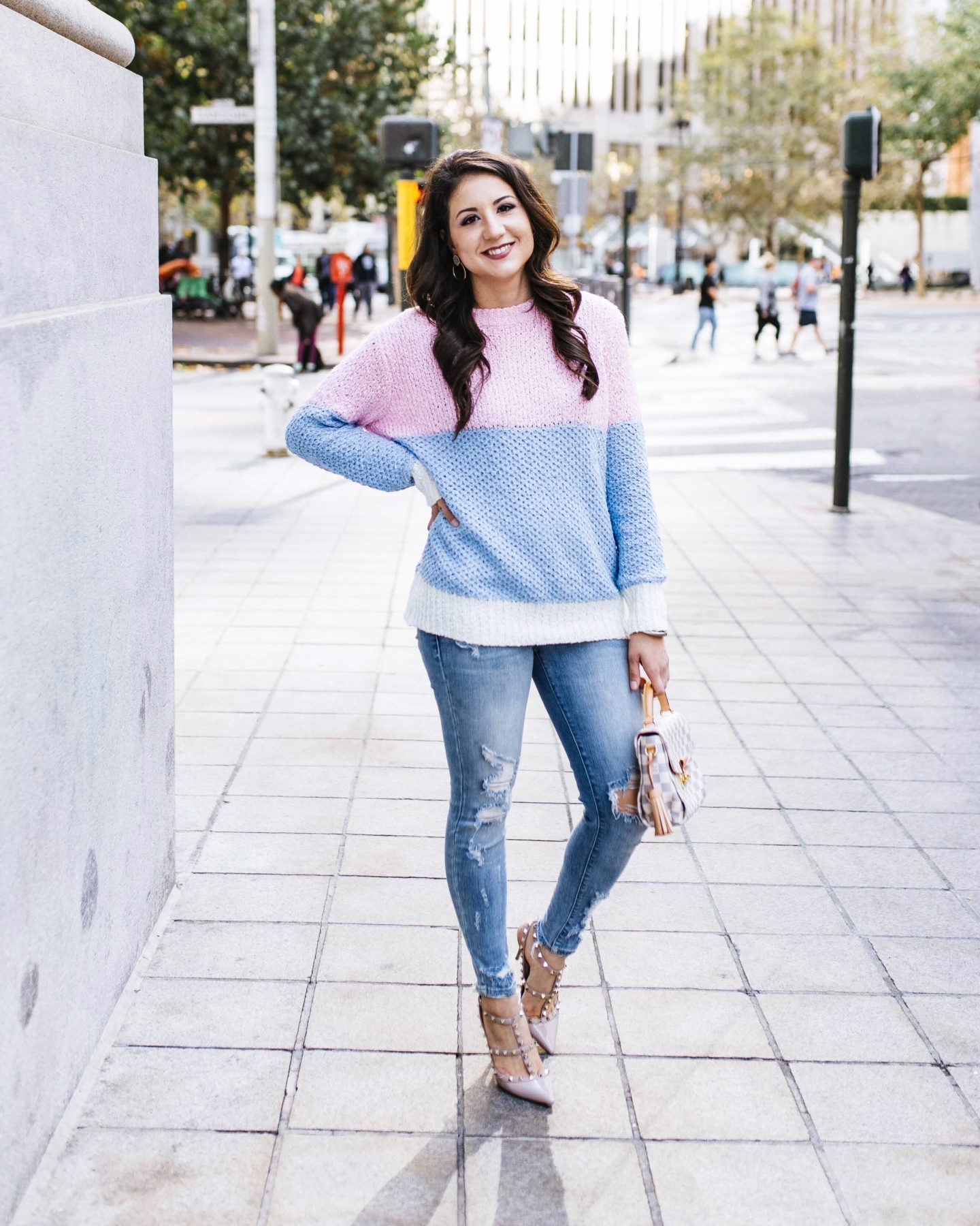 Fifteen Minutes to Flawless x Chicwish Striped Sweater