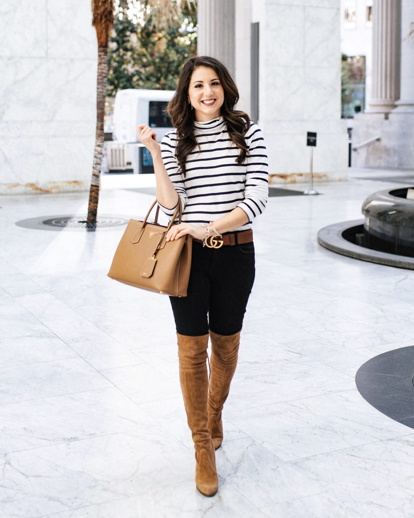 Fifteen Minutes to Flawless x Madewell Striped Turtleneck